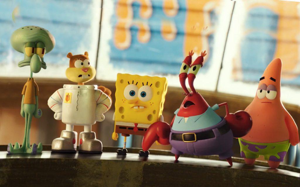 the-spongebob-movie-sponge-out-of-water-2015-wallpaper-squidward-sandy-spongebob-squarepants-mr-krabs-patrick-star-3d-animated