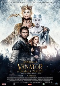 The Huntsman Winter's War Alba ca Zapada
