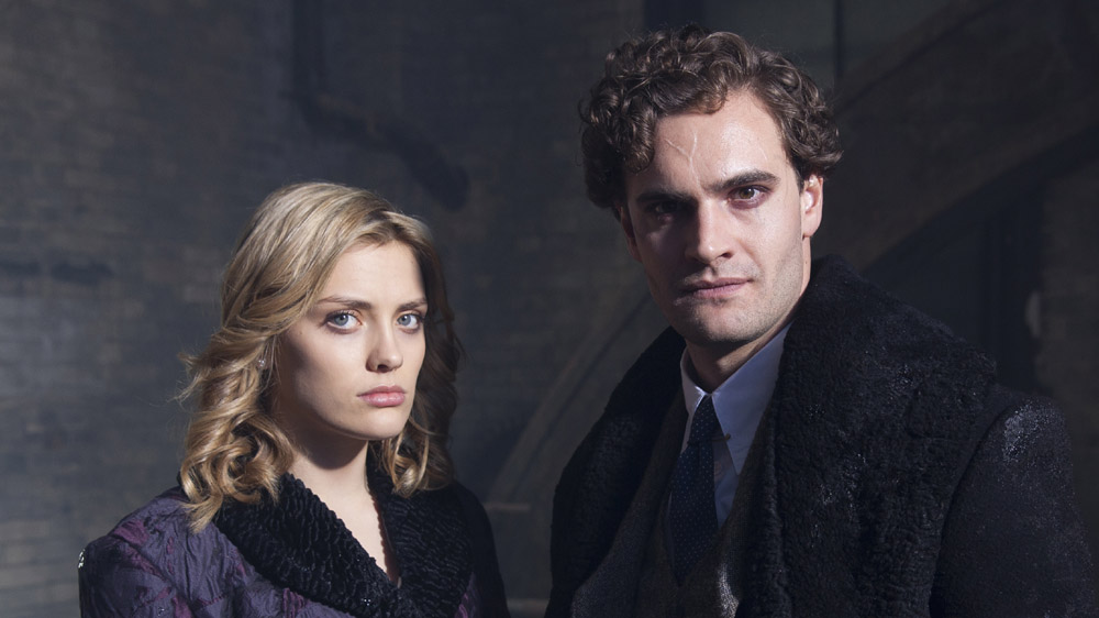 ITV STUDIOS PRESENTS JEKYLL AND HYDE EPISODE 8 Pictured :TOM BATEMAN as Jekyll and Hyde and WALLIS DAY as Olalla. Photographers: DES WILLIE AND JON HALL. This image is the copyright of ITV and must be credited. The images are for one use only and to be used in relation to JEKYLL AND HYDE, any further usage could incur a fee.ITV STUDIOS PRESENTS JEKYLL AND HYDE EPISODE 9 Pictured :MICHAEL KARIM as Ravi,WALLIS DAY as Olalla and TOM BATEMAN as Jekyll and Hyde. Photographers: DES WILLIE AND JON HALL. This image is the copyright of ITV and must be credited. The images are for one use only and to be used in relation to JEKYLL AND HYDE, any further usage could incur a fee.