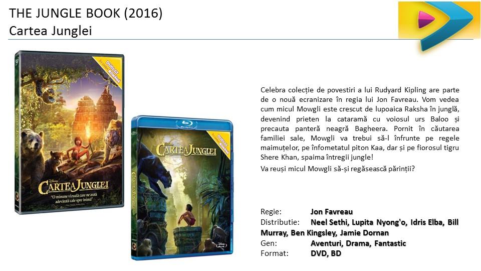 The Jungle Book Cartea Junglei DVD