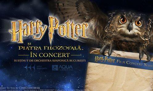 Harry Potter si piatra filozofala concert