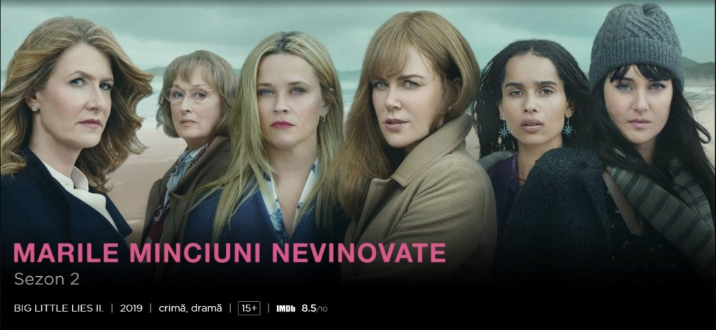TOP seriale HBO GO